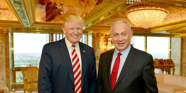 Image: Donald Trump and Benjamin Netanyahu