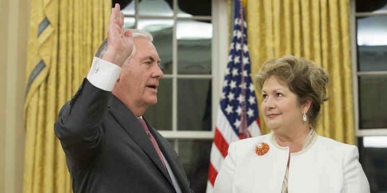 Image: Rex Tillerson Sworn In as 69th U.S. Secretary of State