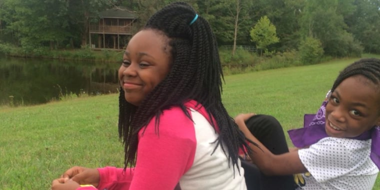 Takiya Williams, 11, left, was critically wounded in a shooting over the weekend.