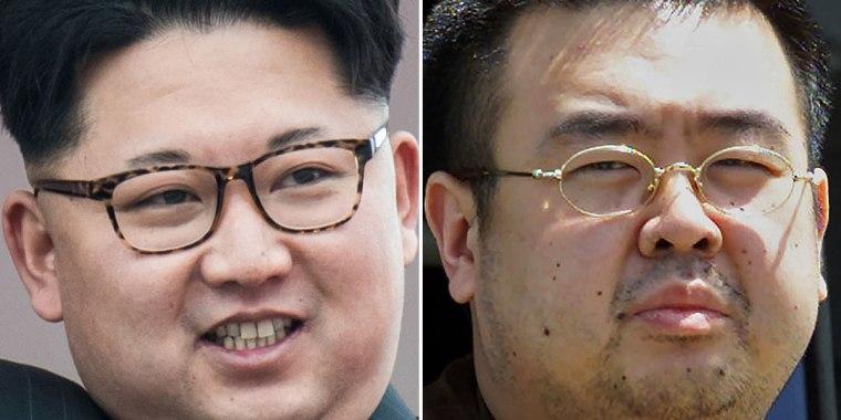 Image: Kim Jong Un, Kim Jong Nam