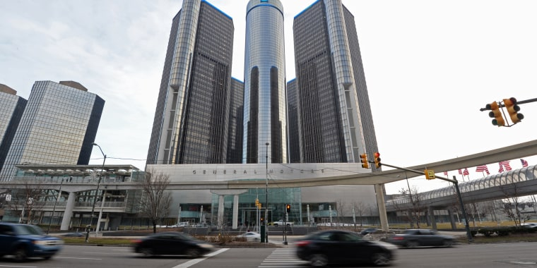 Image: General Motors headquarters in the Renaissance Center