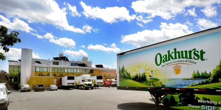 Image: Oakhurst dairy plant in Portland