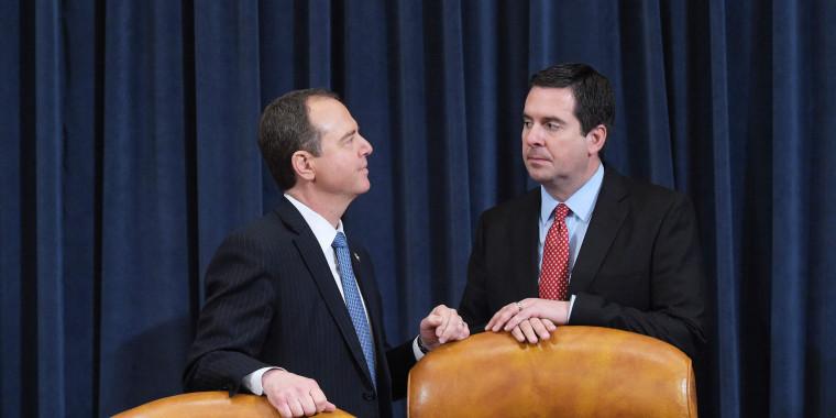 Schiff Calls on GOP Intel Chair Nunes to Recuse Himself ...