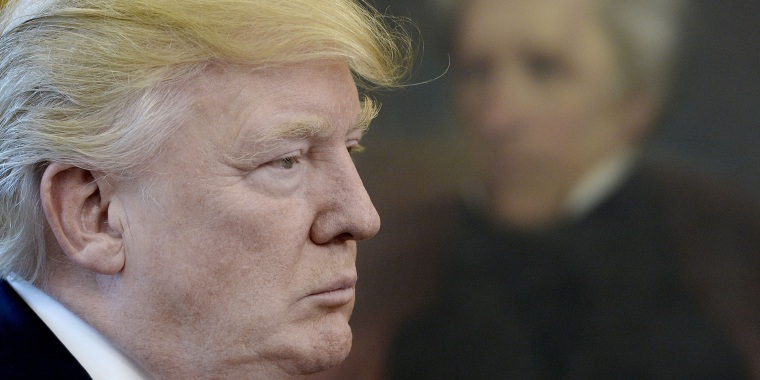Image: Donald Trump signs executive orders, Washington DC, USA - 31 Mar 2017