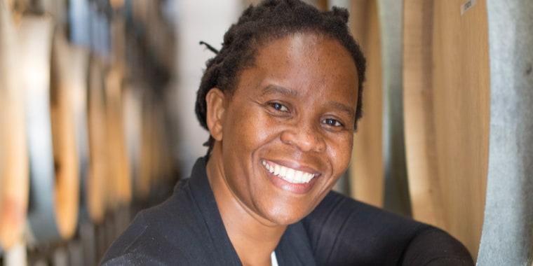 Ntsiki Biyela, founder of Aslina.