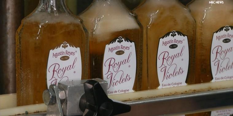 Royal Violets bottle