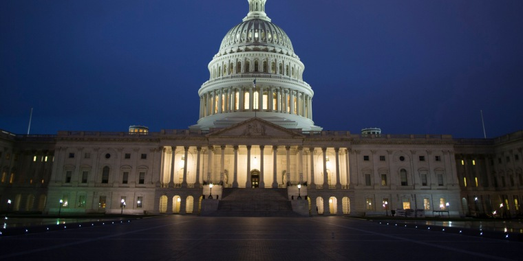 Image: United States Capitol Building at dawn