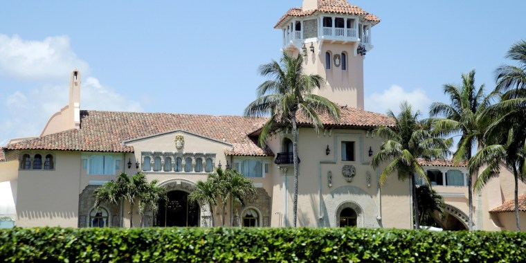Image: President Trump's Mar-a-Lago estate is seen in Palm Beach