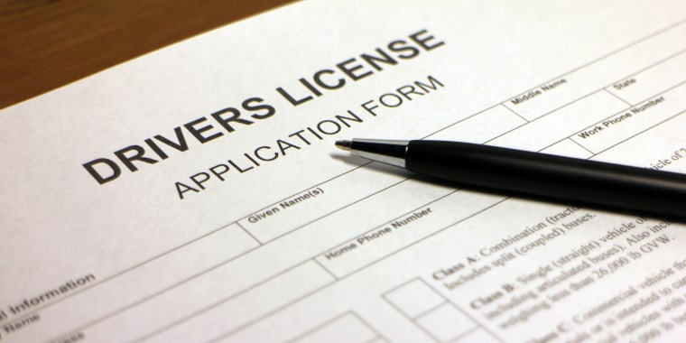 Drivers License ApplicationForm