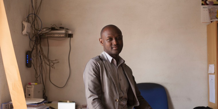 Peter Njane, Director of Ishtar, a health care clinic in Nairobi, Kenya.