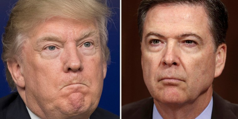 Image: US House Committee requests FBI to provide Comey's documents on Trump