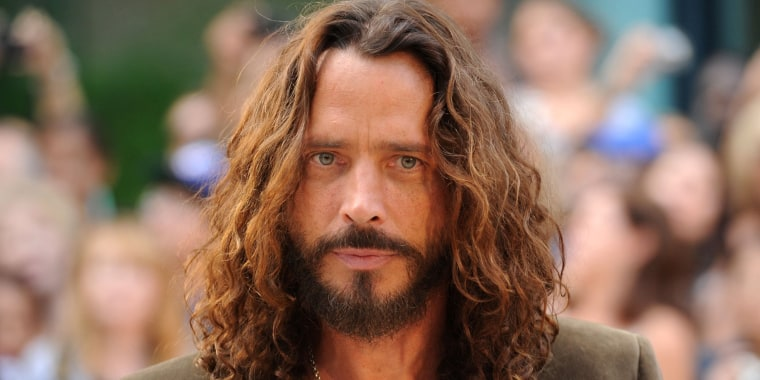 "Image: Musician/actor Chris Cornell  arrives at the premiere of ""Machine Gun Preacher"""
