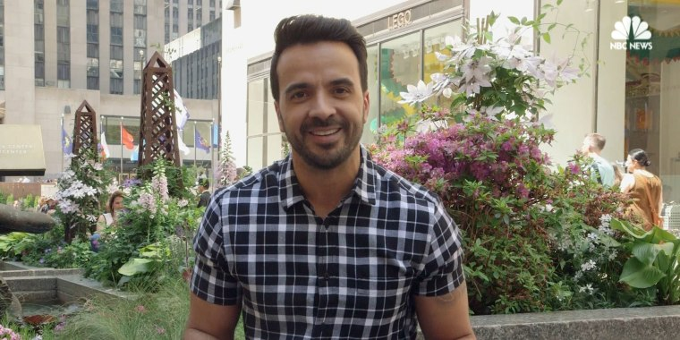 Luis Fonsi sits down with NBC Latino at 30 Rock to discuss his hit song 'Despacito.'