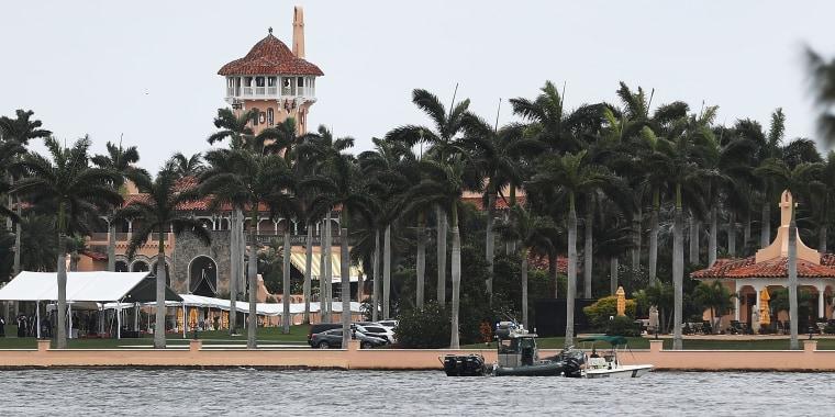 Image: Donald Trump's Mar-a-Lago resort in West Palm Beach, Florida