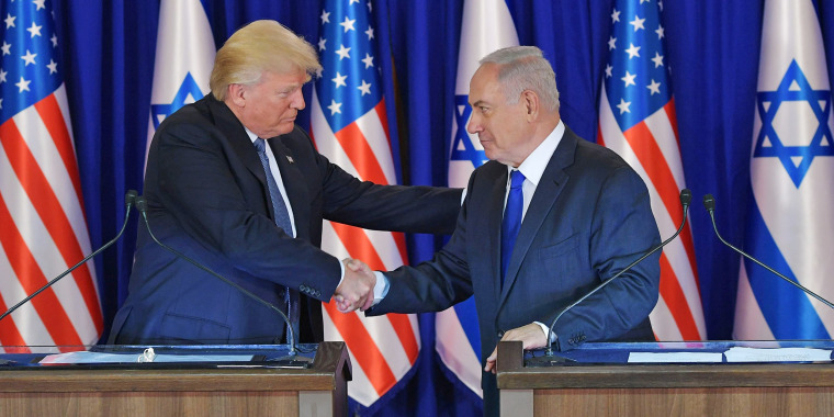 Image result for trump netanyahu