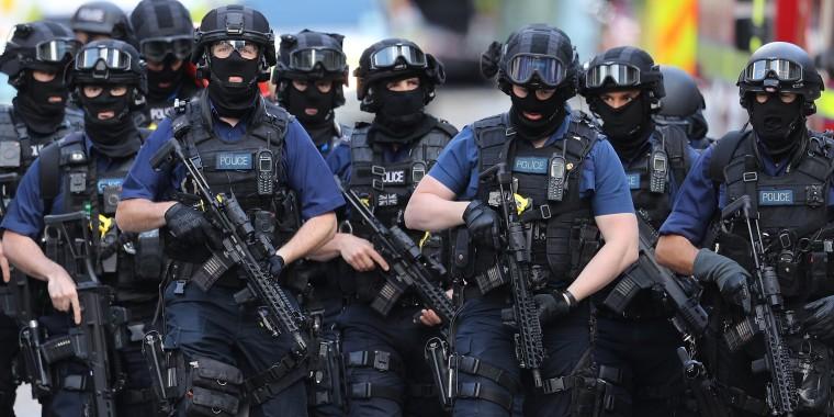 Image: CORRECTED VERSION Aftermath Of The London Bridge Terror Attacks