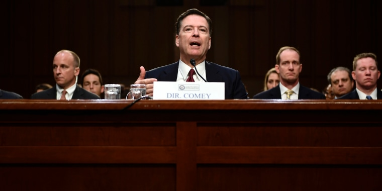 Image: James Comey Hearing