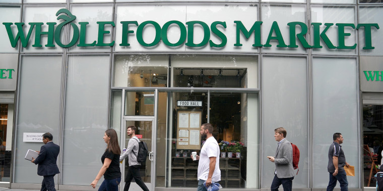 Image: A Whole Foods Market is pictured in the Manhattan borough of New York City, June 16, 2017.