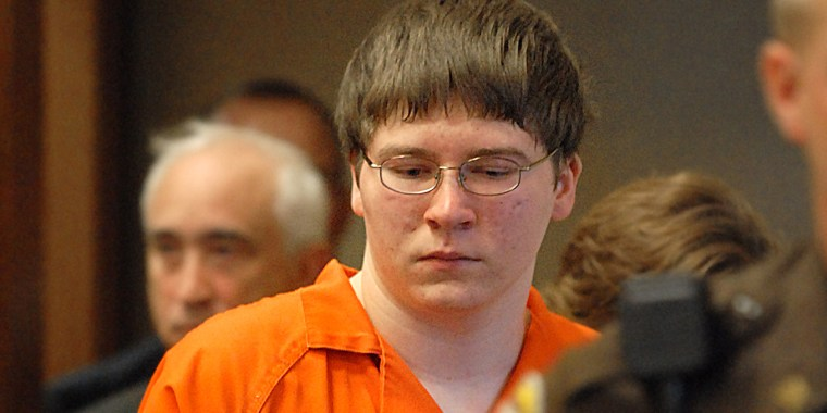 Brendan Dassey is escorted into court for sentencing in Manitowoc, Wisconsin, in August 2007.