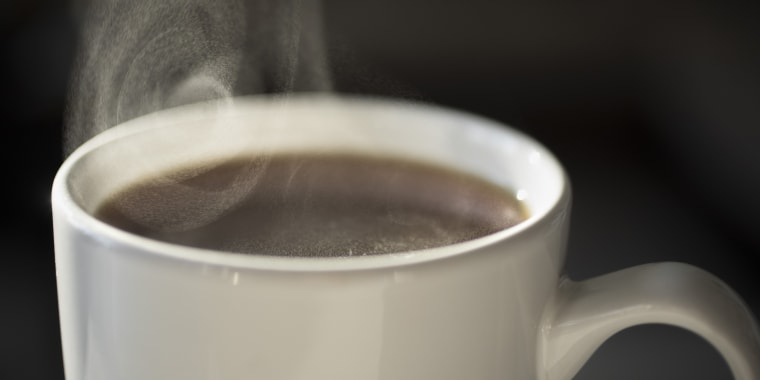 Image: Steaming Cup of Coffee