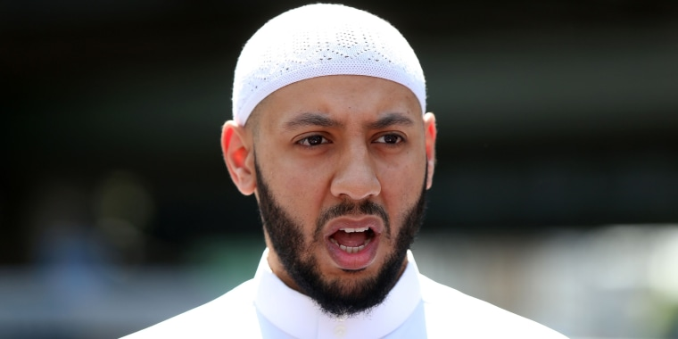 Image: Mohammed Mahmoud, an Imam at the Muslim Welfare House in Finsbury Park.