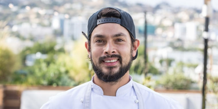 Chef Louis Tikaram from E.P. and L.P. restaurant in Los Angeles.