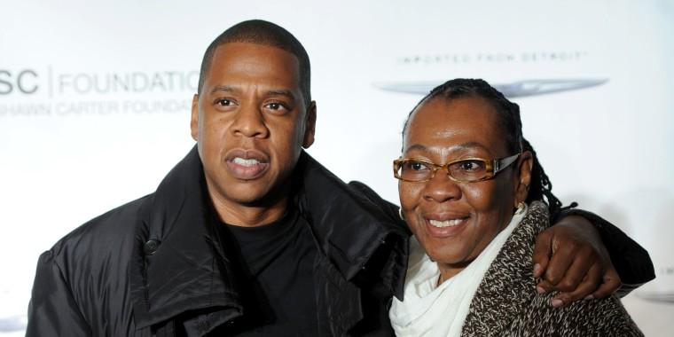 Image: Jay Z and Gloria Carter