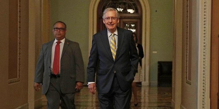 Image: GOP Senators Continue Work On Revised Health Care Bill