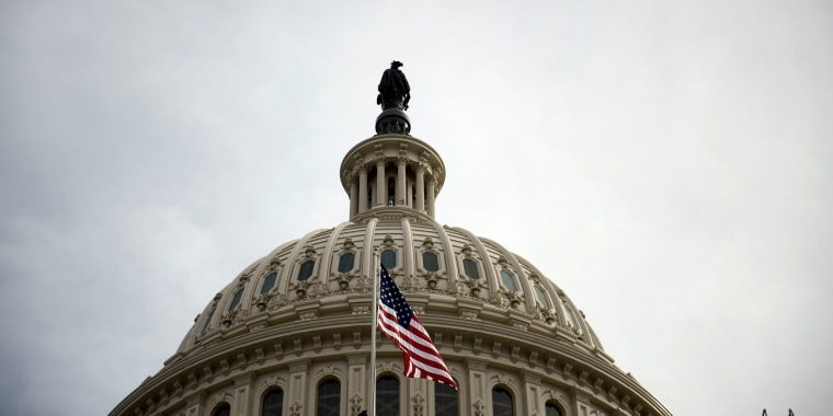 Image: The U.S. Capitol building in Washington, DC, on Jan. 19, 2017 shows a view of the US Capitol building  in Washington, DC.