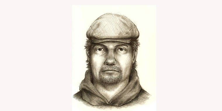 """Image: A composite sketch of the person believed to be connected to the murders of Abigail J. """"Abby"""" Williams and Liberty Rose Lynn """"Libby"""" German"""