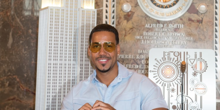 The Empire State Building hosts the King of Bachata Romeo Santos