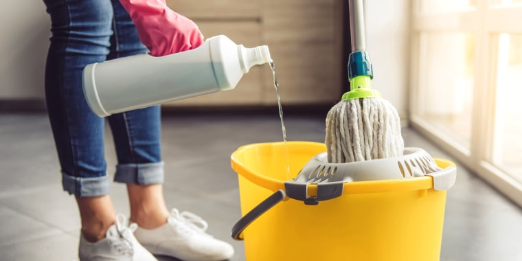 Image: Cleaning Lady