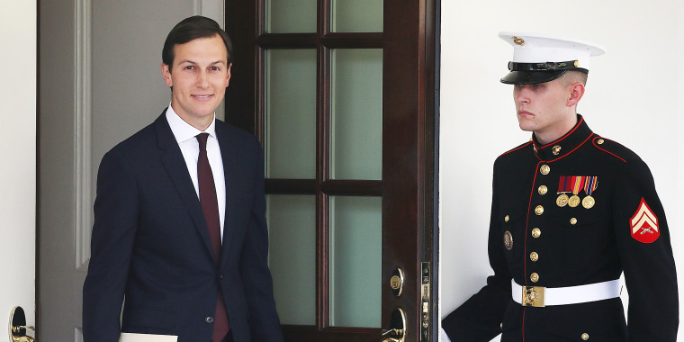 Image: Jared Kushner Makes A Statement To The Media At The White House