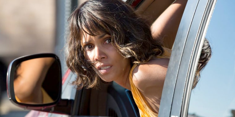 Image: Halle Berry appears in a still from her new movie, Kidnap.