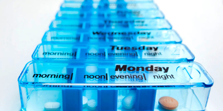 Image: Daily Pill Container