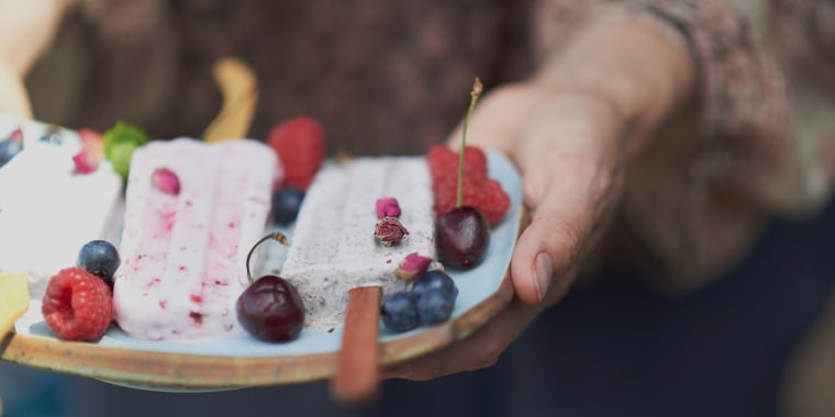 Put those lemon rinds to good use and whip up a batch of Fresh Berry Popsicles.