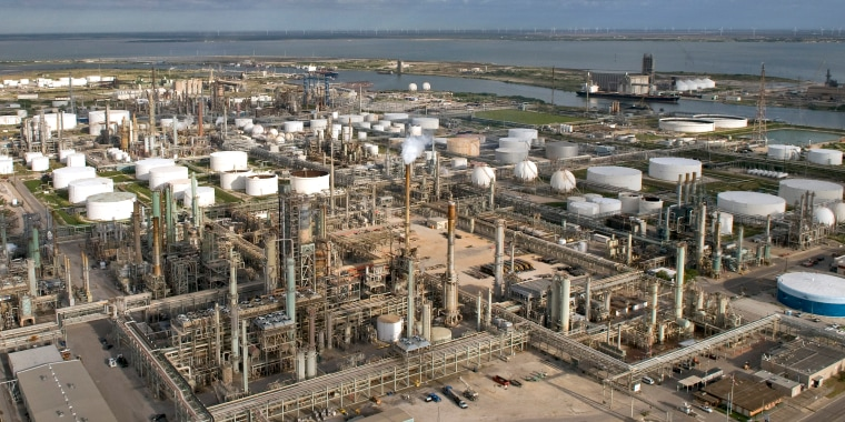 Image: Refinery Aerials In Texas
