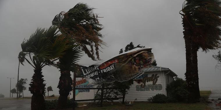 Image: Texas Gulf Coast Braces For Hurricane Harvey