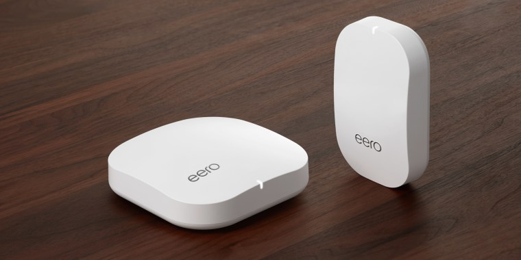 Eero's home Wi-Fi system creates a network to make sure every room in the house has strong, reliable Wi-Fi, even the basement or back yard.