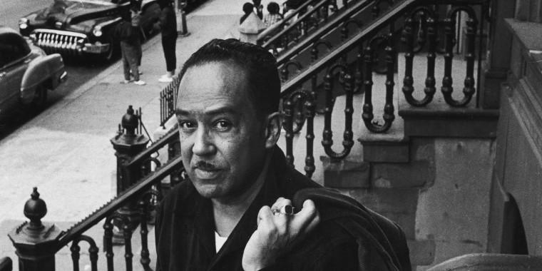 Langston Hughes On The Stoop