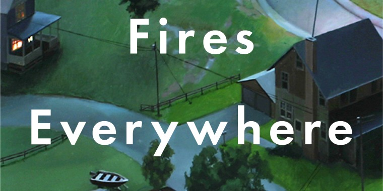 """The cover of """"Little Fires Everywhere,"""" Celeste Ng's second novel."""