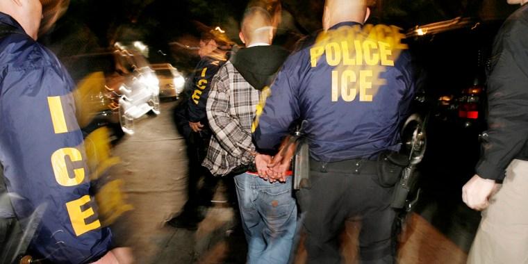 Image: ICE Raids