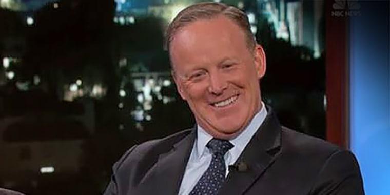 "Sean Spicer on ABC's ""Jimmy Kimmel Live"""