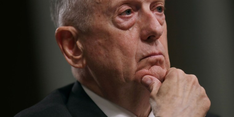 Image: Defense Secretary James Mattis