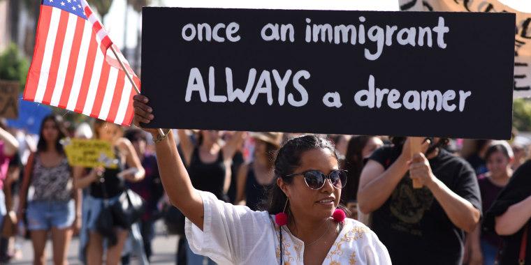 Image: US-IMMIFRATION-DACA-PROTEST