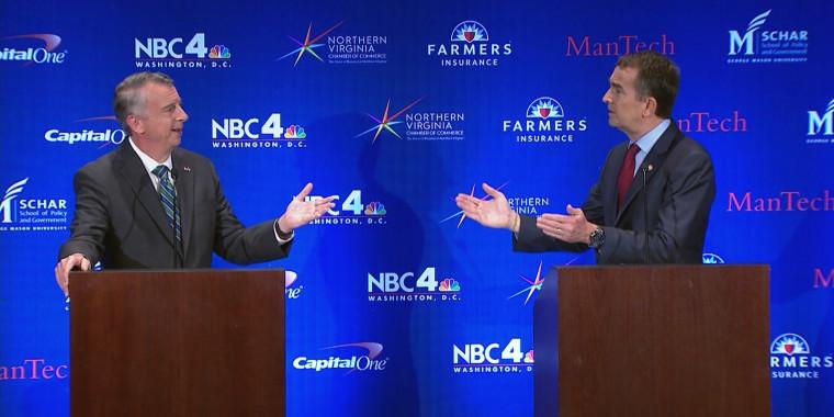 Image: Virginia Governor's Debate
