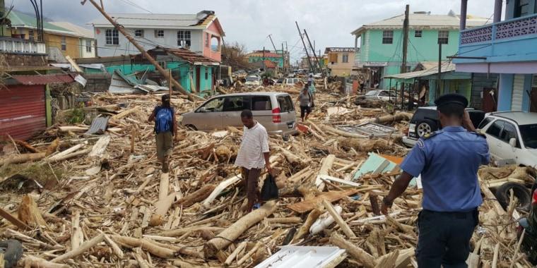Image: BESTPIX DOMINICA-HURRICANE-MARIA-AFTERMATH