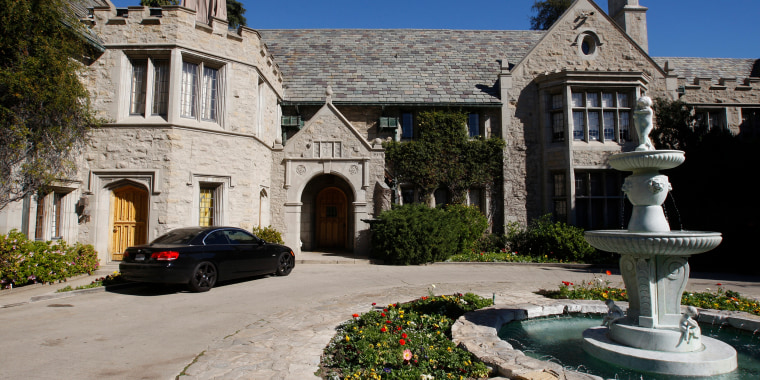 Image: The Playboy Mansion in Los Angeles