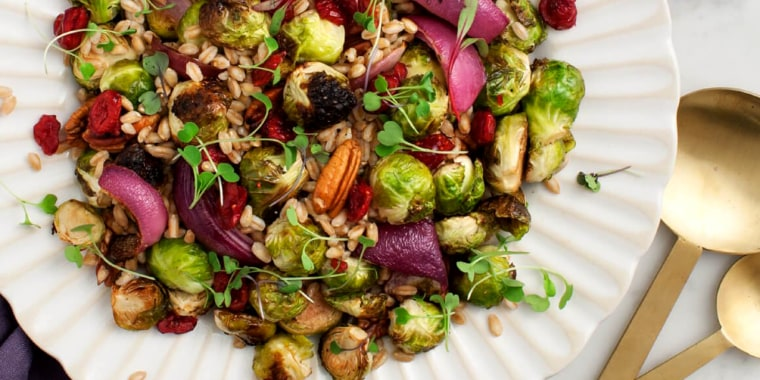 Image: Maple-Balsamic Roasted Brussels Sprouts