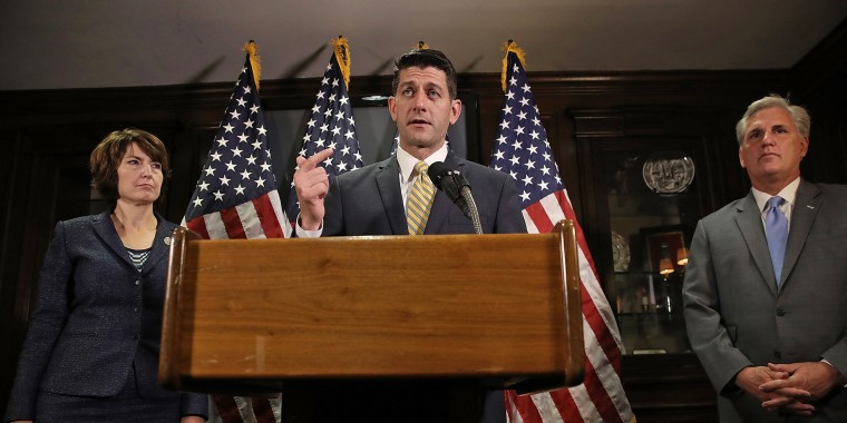 Image: House Speaker Paul Ryan (R-Wi) Addresses The Media After Weekly Party Conference